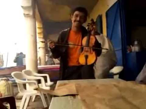 Moroccan Guy Singing a Folk Song