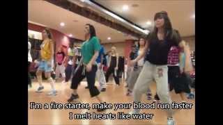 Lyrics Fire Starter Demi Lovato (Music Video)