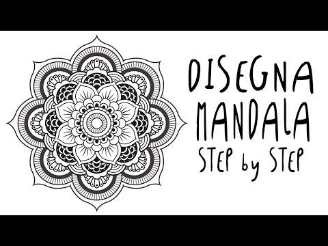 Come Disegnare Un Mandala Fai Da Te Mania