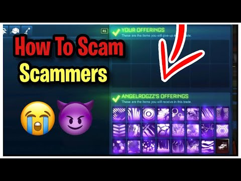 How to Scam Scammer For Items! (Scammer Gets Scammed) Rocket League