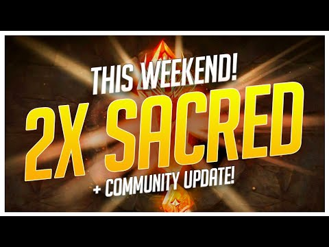 RAID | 2x SACREDS This Weekend! Community Update!