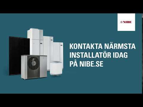 NIBE Kontakta Installatör Bumper Ad 6 sek