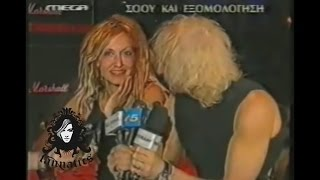 Anna Vissi & Nikos Karvelas - Press Conference & Rehearsals, Asteria (2000) [fannatics.gr]