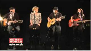 Sugarland - Irreplaceable (News of the World session)