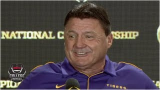 Ed Orgeron on path to LSU: I used doubters as internal motivation | College Football on ESPN