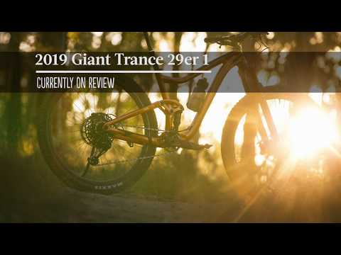 2019 Giant Trance 29er 1 - Just in For Review.