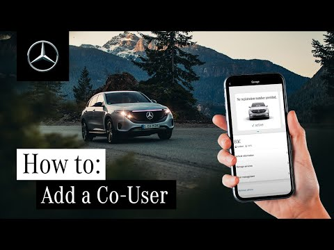 How to Add a Co-User for Your Vehicle with Mercedes me