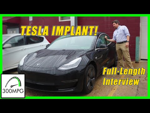 Tesla Key Card Implant in Hand | Extended Interview Full-Length UNCUT