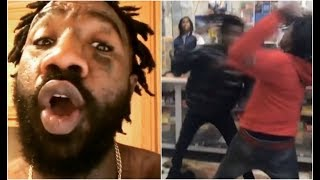 Boskoe Reacts To Rico Recklezz Lil Mister Fight