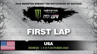 Ken Roczen First GoPro Lap Monster Energy FIM Motocross of Nations