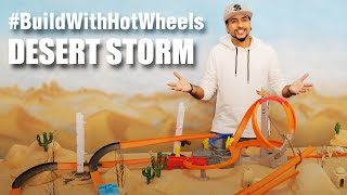 #BuildWithHotWheels - Desert Storm | Hot Wheels | Mad Stuff With Rob