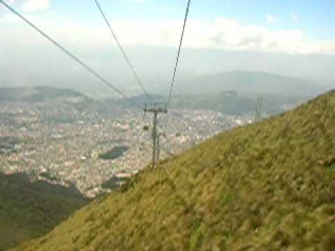 Teleferico, Quito, Ecuador