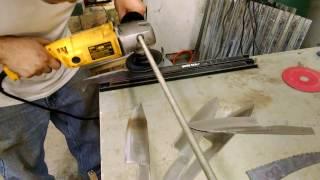 Angle Grinder Jig for knife making