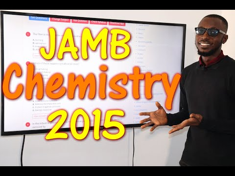 JAMB CBT Chemistry 2015 Past Questions 1 - 20