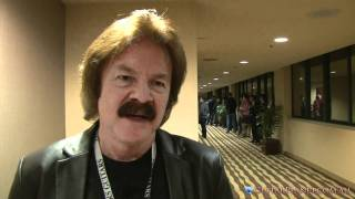 Doobie Brother Tom Johnston at NAMM 2011