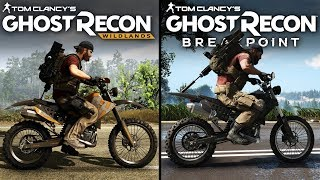 Ghost Recon: Breakpoint vs Wildlands | Direct Comparison
