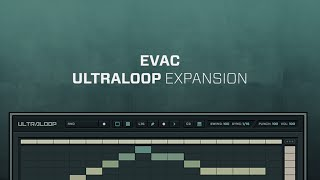 ULTRALOOP Evac Loop Expansion Demo 128 BPM
