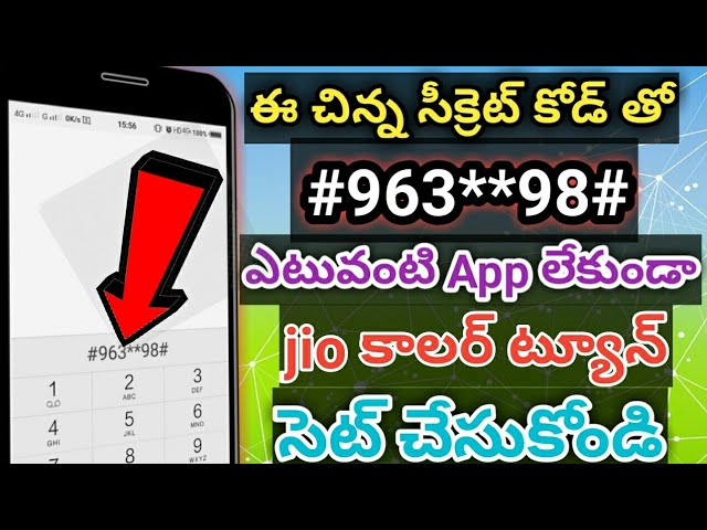 Download thumbnail for how to set jio tune without jio saavn