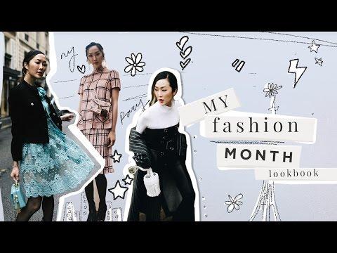 My Fashion Month Lookbook
