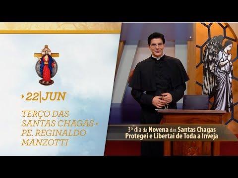 Terço das Santas Chagas | Padre Reginaldo Manzotti | 22 de Junho de 2019