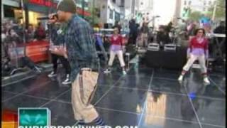 Chris Brown -  Wall To Wall -The Today Show