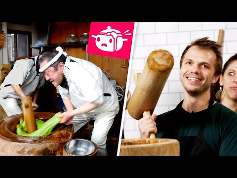 We Tried To Make Mochi With Giant Hammers ? Eating Your Feed ? Tasty