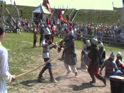 Фестиваль парк Киевская Русь 2011 – битвы – часть 2