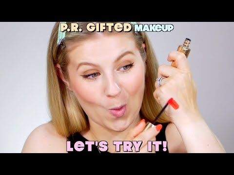 PR Gifted Makeup… Let's Try It!