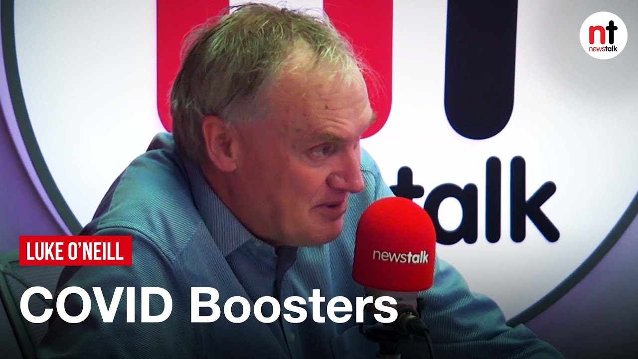 COVID Booster could give 'Three Year Protection' – Luke O'Neill