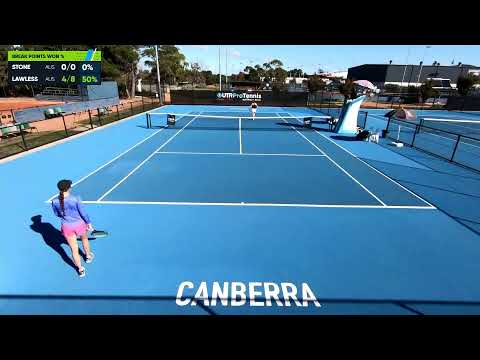 UTR Pro Tennis Series - Canberra - Court 7 - 12 April