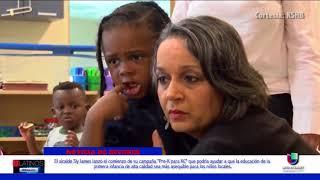El alcalde de Kansas Sly James anunció un aumento en impuestos para apoyar la educación infantil