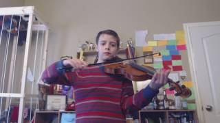 The Arena by Lindsey Stirling (Violin Cover by Shawn N)