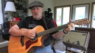 1342 -  Goodbye Again  - John Denver cover with guitar chords and lyrics