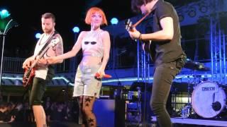 PARAHOY!: Paramore - Interlude: Holiday Live 3/9/14