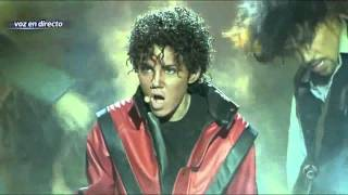 Angy Fernández - Thriller (Michael Jackson) Tú cara me suena - Gala 5
