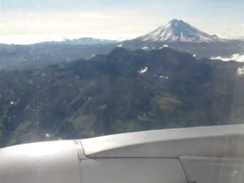 Cotopaxi from the Air