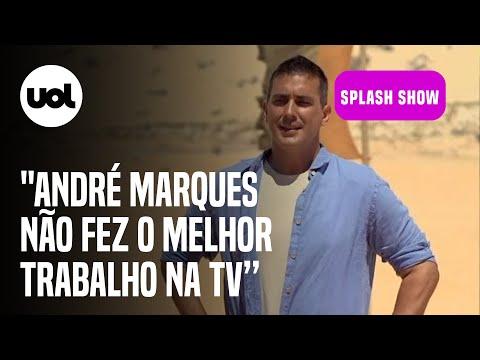 """""""No Limite definitivamente não foi o melhor trabalho André Marques na TV"""", diz Chico Barney"""