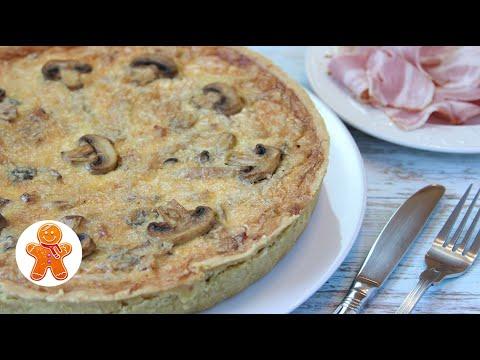 Пирог с Мясом и Грибами без Пшеничной Муки