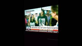 Woman says fuck the police live on fox news