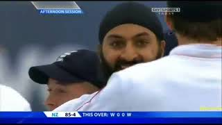 Monty Panesar 6 37 vs New Zealand, 2nd Test Old Trafford 2008   YouTubevia torchbrowser com
