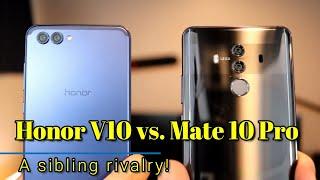 Huawei Mate 10 Pro vs.  Honor V10 + International Giveaway