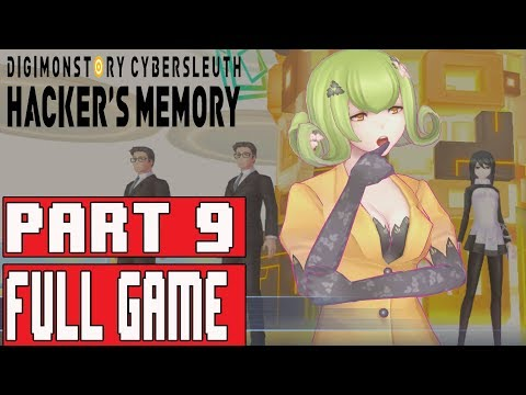 DIGIMON STORY CYBER SLEUTH HACKER'S MEMORY Walkthrough Part 9 No Commentary (English)