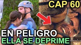 AVANCE CAPITULO 60 RETO 4 ELEMENTOS  YANN Y ELLA EN PELIGRO, ELLA LLORA POR NO...