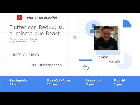 Flutter con Redux, sí,  el mismo que React