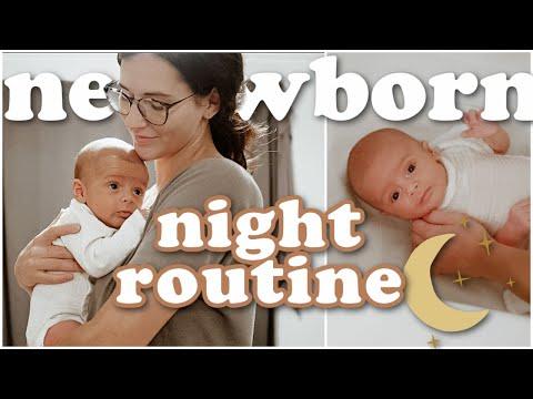 NIGHT ROUTINE WITH MY NEWBORN (7 WEEKS OLD) 2021