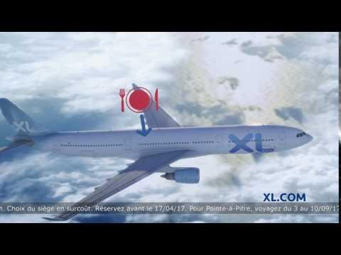 Publicité XL Airways - Paris - Les Antilles à partir de 349 € A/R