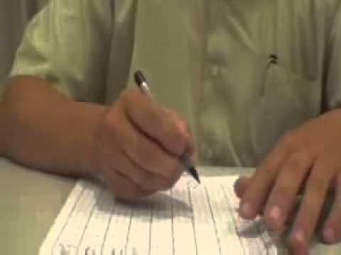 寫字正姿教學影片ˍ握筆三字經&坐姿小口訣 - YouTube