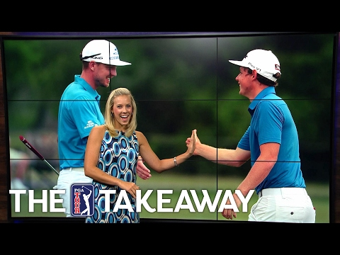 The Takeaway | Blixt & Smith pull ahead, a sisterly assist & golf is hard