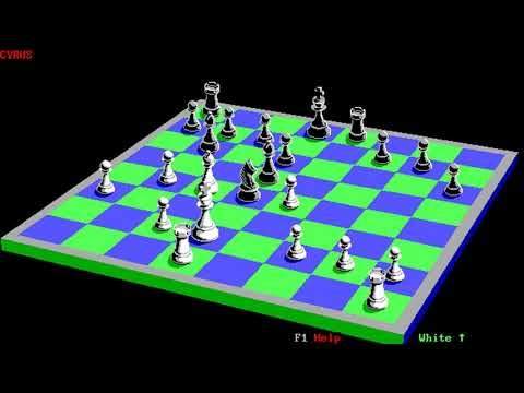 Cyrus (Intelligent Chess Software) (MS-DOS) [1985]