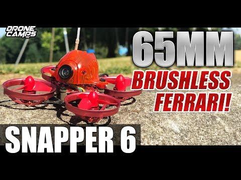 SNAPPER 6 Brushless Whoop   MINI Ferrari!   Honest Review & Glitch Fix